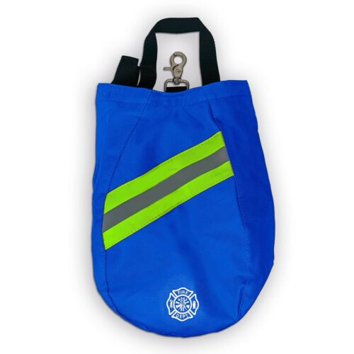 SCBA Mask Bag, Deluxe Version, Blue, Firefighter, ISI, EMT, Fire, Respirator