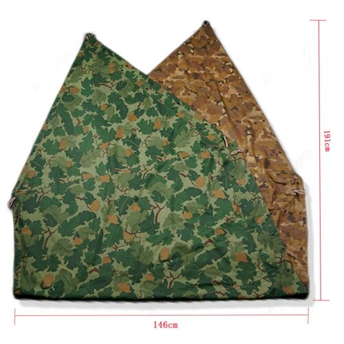 VIETNAM ERA US MILITARY MITCHELL CAMOUFLAGE TENT COVER CLOTH CANVAS