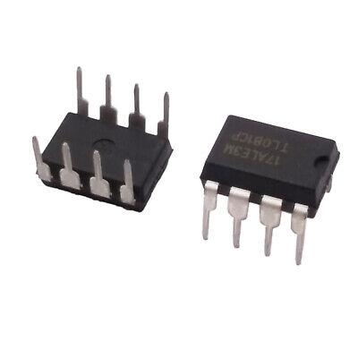 Us Stock 10pcs Tl081 Tl081cp Ic Jfet Input Operational Amplifiers Dip-8