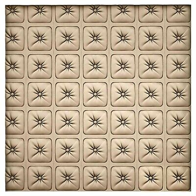 Polyurethane Mold Form Button Decorative Imprint Concrete Cement Design Wall