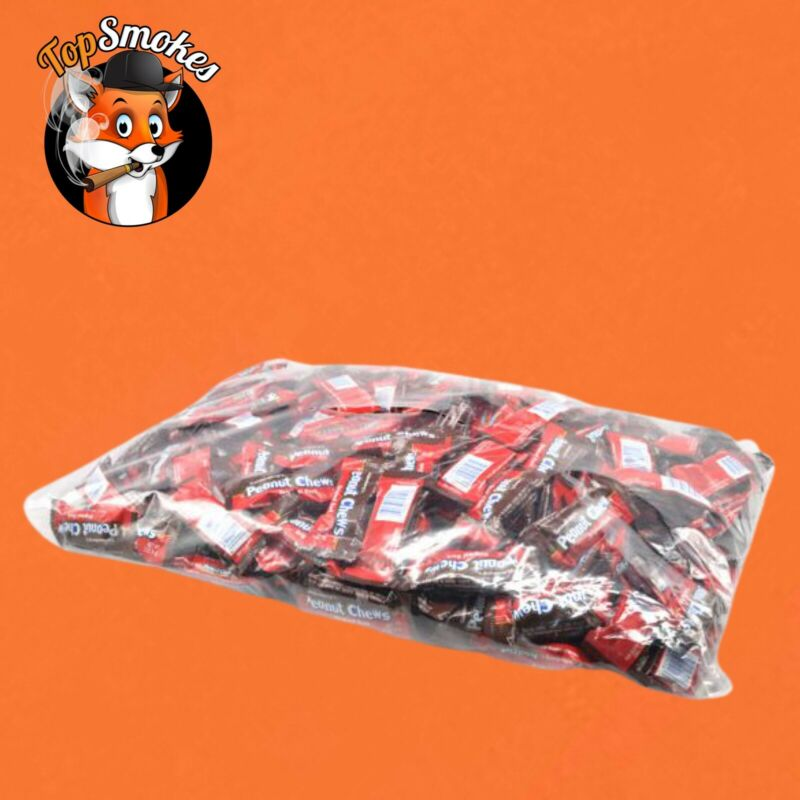 Original Goldenberg Dark Chocolate Peanut Chews 4.5 Lb Bag Fast Free Shipping