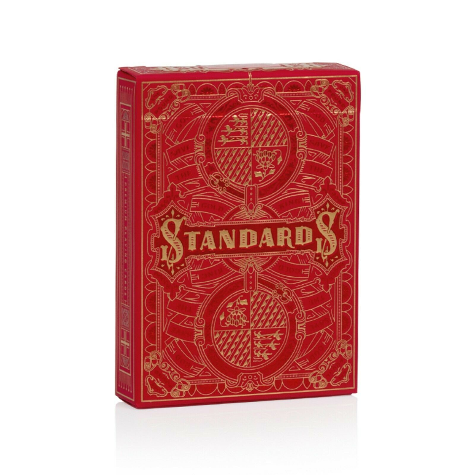 Gold Standards Premium Playing Cards Red Back Edition