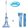 JML Super Mop Pro Ultra Absorbing Drying Sponge Telescopic Handle Plus 1 Refill