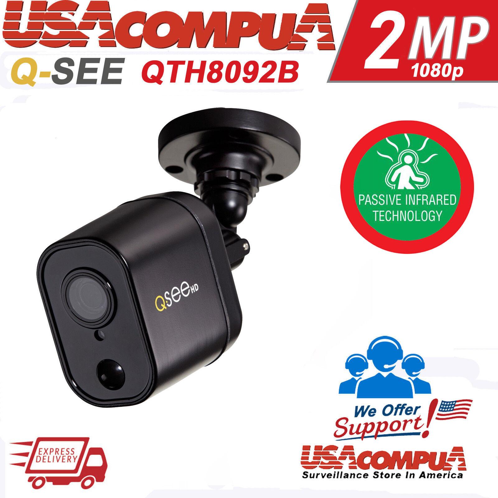 Q-See CAMERA 2MP QTH8092B PIR 1080P AHD BULLET CAMERA 1080p