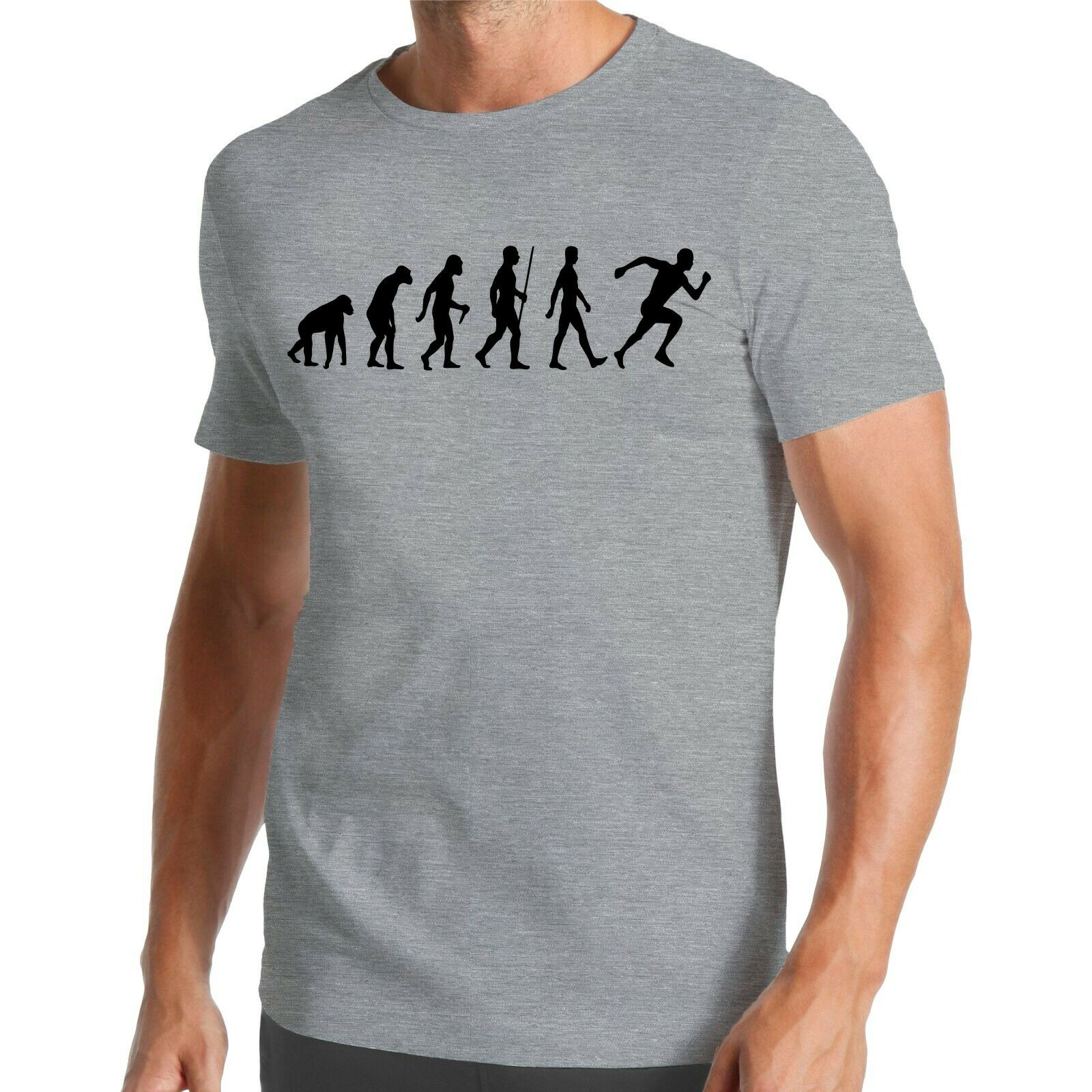 Evolution Rennen T-Shirt | Running | Marathon | Sprint | Leichtathletik