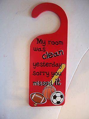 RED WOOD MY ROOM WAS CLEAN YESTERDAY SORRY YOU MISSED IT BOYS ROOM DECORATION