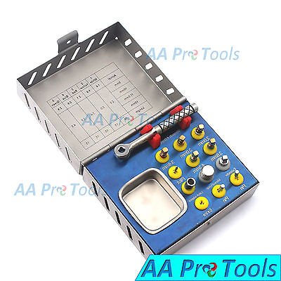 Aa Pro Bone Compression Kit Surgical Sinus Lift Expander Dental Implant Dn-465
