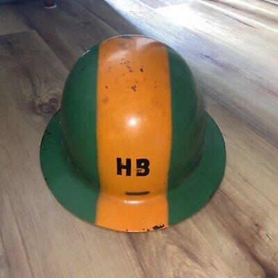 Msa Skullgard Hard Hat Vintage Painted