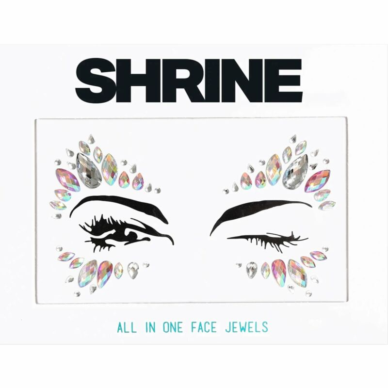 Shrine+-+Individual+Self+Adhesive+Face+Jewel+-+Iridescent+Candy+Kissed