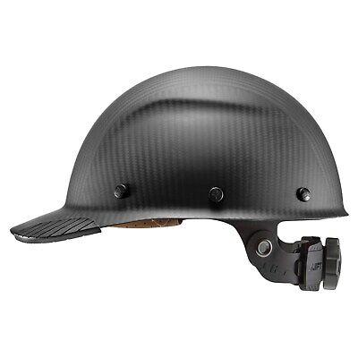 Lift Safety Hdcm-17mkg Dax Carbon Fiber Cap Style Hard Hat Matte Black