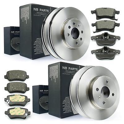 Bremsbeläge vorne VA Bremsen Set für 4-Loch Felge Opel Astra G Bremsscheiben