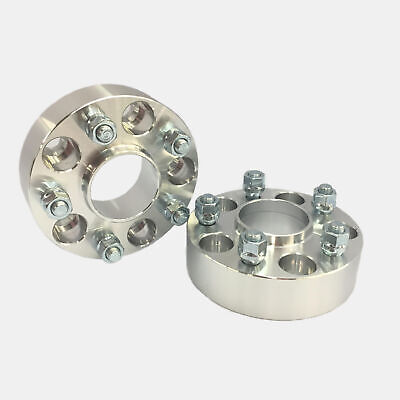 HUBCENTRIC WHEEL SPACERS 5X4.75 5X120.65 5X120.7 70.3 CB 12X1.5 38MM 1.5 INCH