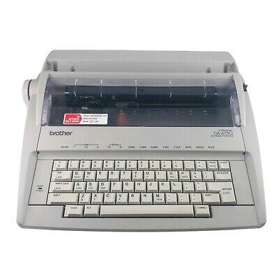 Brother Correctronic Gx6750 Electronic Typewriter Tested Working