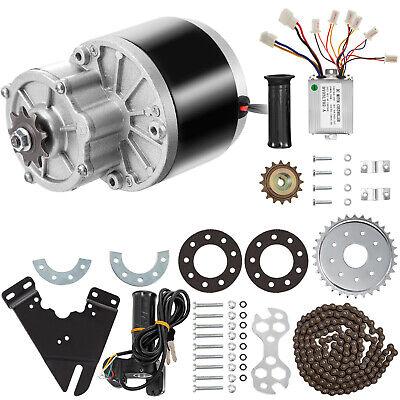 250w 24v Dc Motor Gear Reduction Motor Kit Throttle Grip Controller Go-kart