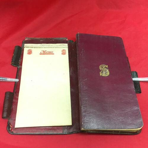 SINGER 1918 UK Pocket Diary & Engagement Book Calendar