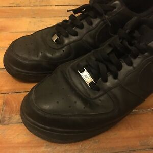 Nike air force 1 black size 11 45 shoes