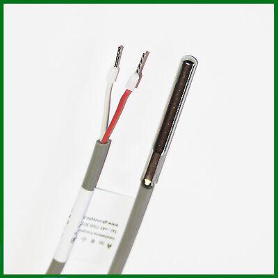 KTY81-110 Temperaturfühler Silikon 1.5m Fühler Sensor Temperatursensor
