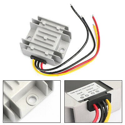 Dc-dc 12v Step Up To 24v 3a 72w Car Power Supply Converter Regulator Waterproof