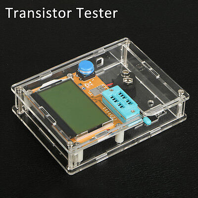 Mega328 Lcr-t4 Esr Transistor Tester Diode Triode Capacitance Scr Inductance Mos