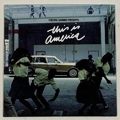 "Childish Gambino This Is America EP 7 Inch Vinyl Limited Black 7"" Record"
