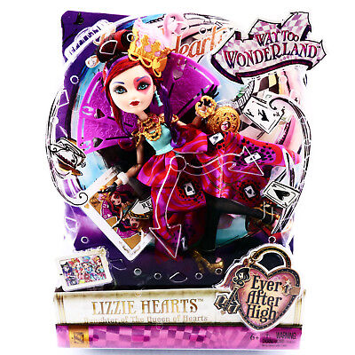 Ever After High Lizzie Hearts Doll Way To Wonderland Toys For Girls Age 6 7 8 9