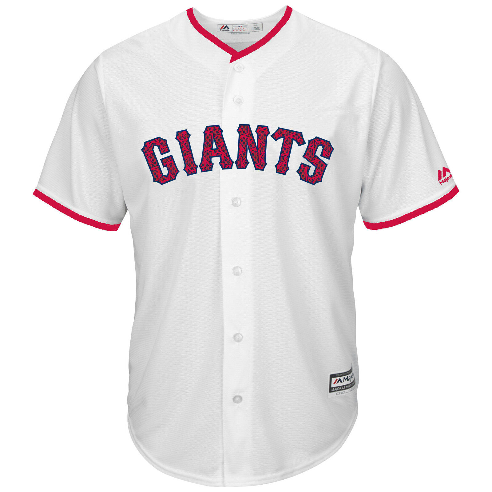 super popular 69684 e22ff Details about Buster Posey San Francisco Giants 2016 4th of July Cool Base  Jersey M