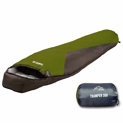 EXPLORER Tramper 300 XXL Mumienschlafsack Camping Schlafsack Trekking -16°C groß
