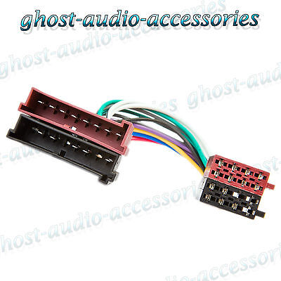 Ford Focus ISO Car Radio Stereo Harness Adapter Wiring ...