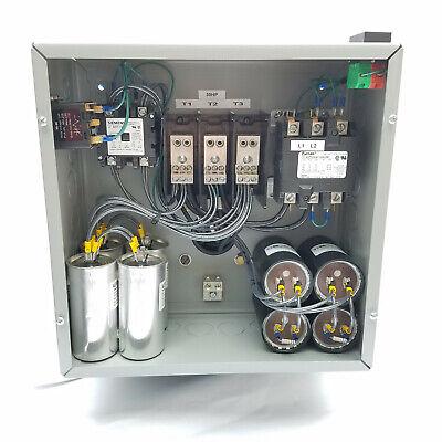 25hp Cnc Balanced 3 Phase Rotary Converter Panel 10 Year Warranty