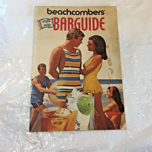 """Vtg 1971 SOUTHERN COMFORT """"Beachcombers Bar Guide"""" Cocktail Recipe Booklet"""