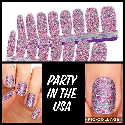 Party In Usa (COLOR STREET Nail Strips Party in the)