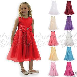 FLOWER-GIRL-DRESS-Bridesmaid-Dress-GIRLS-FORMAL-OCCASION-DRESS-Christening-2-13