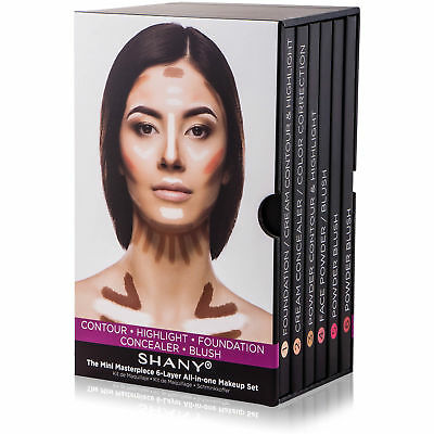SHANY The Mini Masterpiece 6 Layers Foundation, Concealer, C