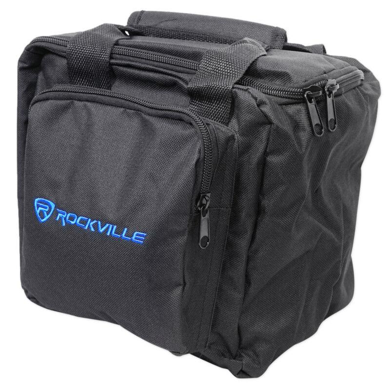 Rockville RLB90 Universal Travel Bag Fits 2x Par Lights+Controller+Cables