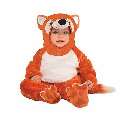 Kleinkinder Pelzig Fox Tier Kostüm Overall Kostüm Buchwoche Zoo (Fox Kostüm Kleinkind)