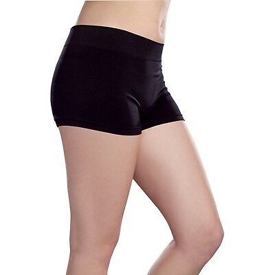 Women's Booty Shorts Nylon Spandex Comfortable Stretch Short Bottom - Womens Booty Shorts