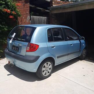 Hyundai getz 2006 5door sky blue