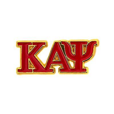 Kappa Alpha Psi Fraternity Letter Only Lapel Pin Enamel Greek Formal Wear Blazer