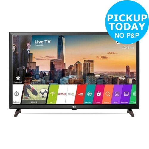 LG 32LJ610V 32 Inch Full HD 1080p Freeview Smart WiFi LED TV