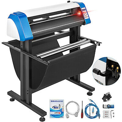28 Vinyl Cutter Plotter Sign Cutting Laser Pointer Automatic Contour Cut Print