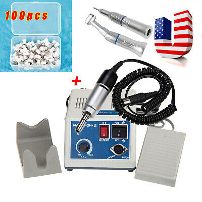Dental Lab Marathon Electric Micromotor Low Speed Handpiece Polishing Cups Pro