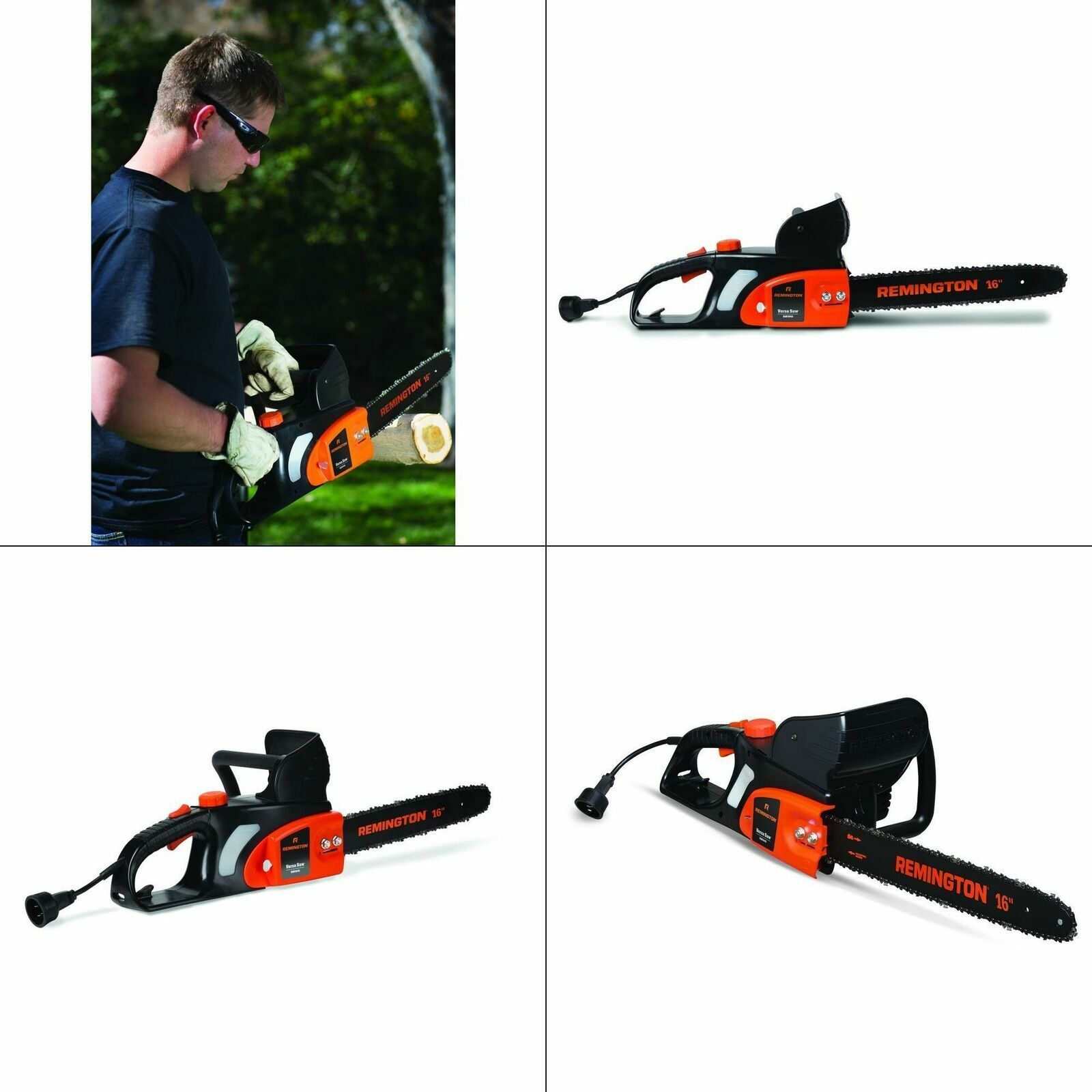 Remington RM1635W 12 Amp 16-in Electric Chain Saw