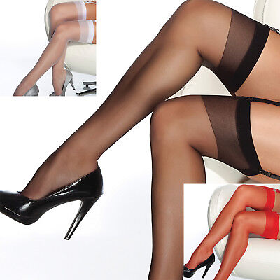 Coquette Thigh High Sheer Stockings - Reg and Plus Sizes - Use With Garter Belt](Stockings And Garters)