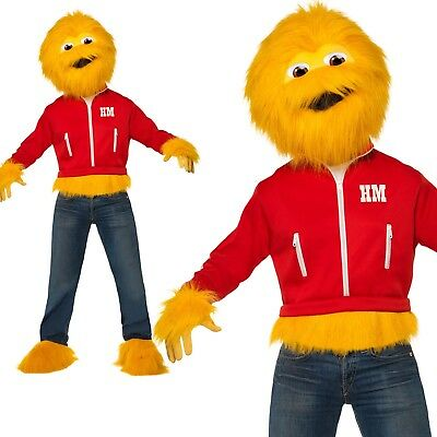 Honey Monster Costume Sugar Puffs 80s Retro Animal - Sugar Puff Kostüm