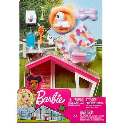 Barbie Estate Puppies and Dog House Furniture Set