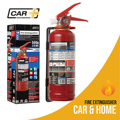 Fire Extinguisher Dry Chemical Powder Safety Portable Emergency Car Home 1.1 Lb