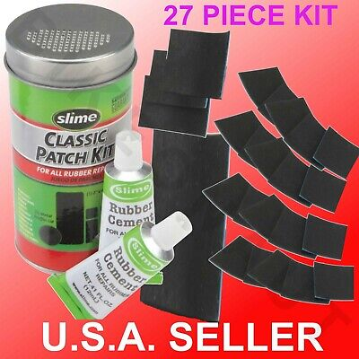 BIKE ATV Flat TIRE Puncture Repair Kit Bicycle Inner Tube Patch Rubber Cement