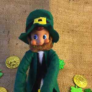 St Patrick's Day Leprechaun doll; Irish Tradition; St Patty's Day Tradition