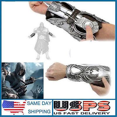 Cosplay Halloween Assassin's Creed Ezio Hidden Blade Auditore Gauntlet Replica](Ezio Hidden Blade)