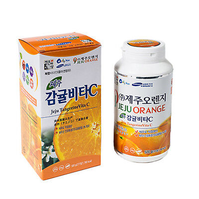 Jeju Island Citrus Vitamin C 277 Tablets Natural Fruits Immune Health 500g
